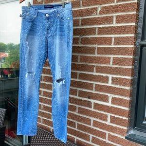 Size 10 Rock & Republic 'Emo' jeans